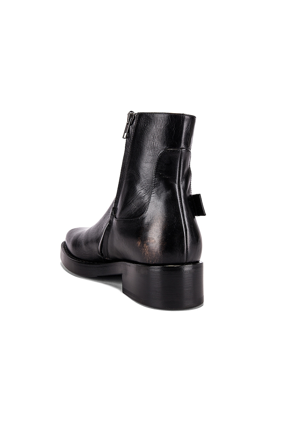 Image 3 of Raf Simons High Sole Strap Boot in Black