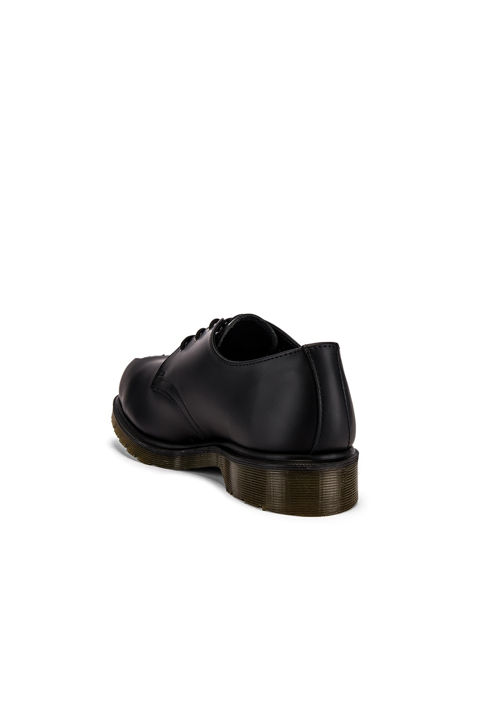 Image 3 of Raf Simons x Dr. Martens Cut Out Steel Toe Shoes in Black