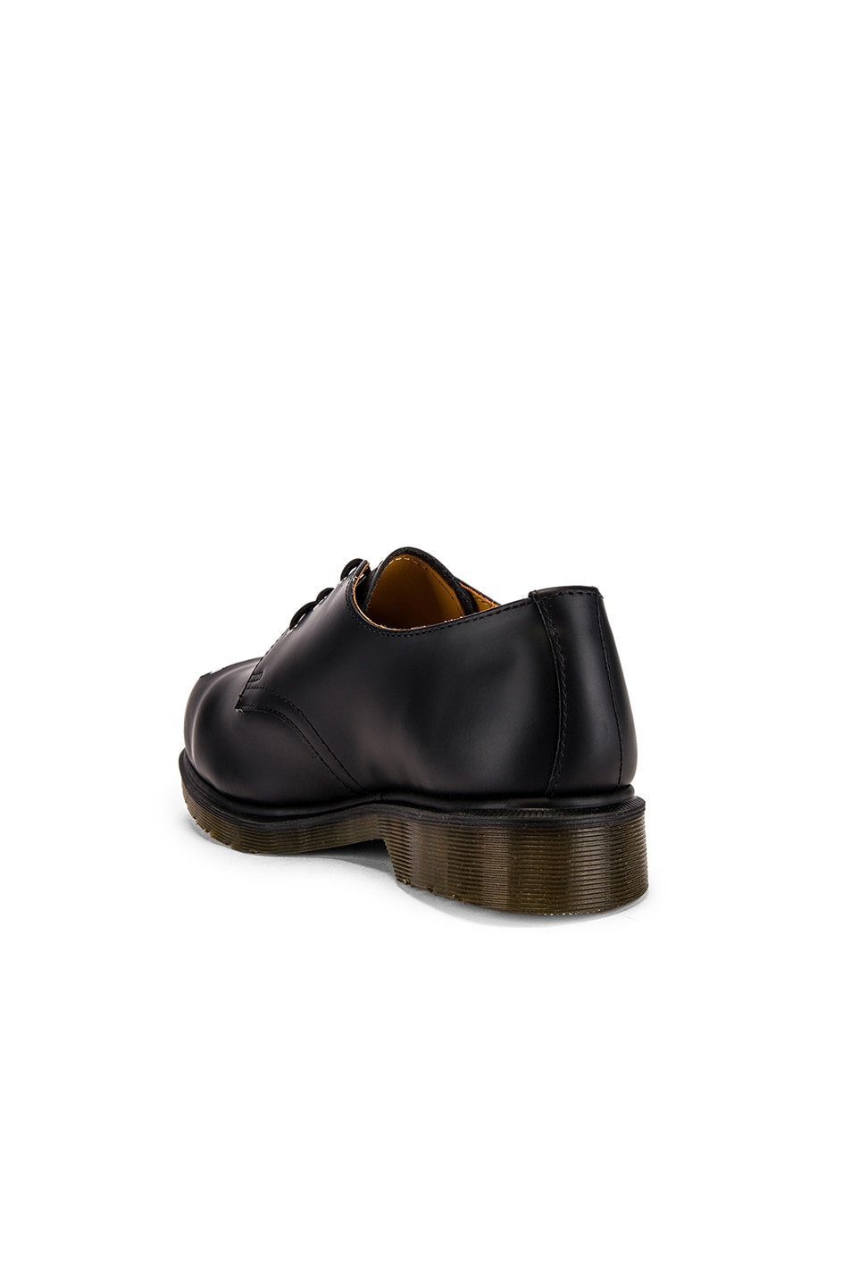 Image 3 of Raf Simons x Dr. Martens Asymmetric Cut Out Steel Shoe in Black