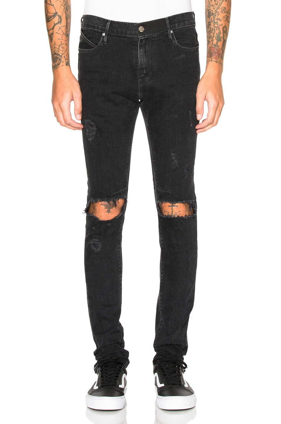 Image 1 of RtA Jeans in Ash Destroy