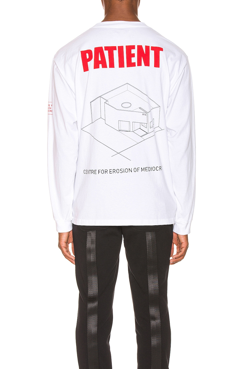 Image 5 of RtA Graphic Tee in Patient White