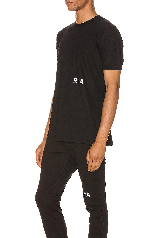 Image 3 of RtA 25 Logo Tee in Black