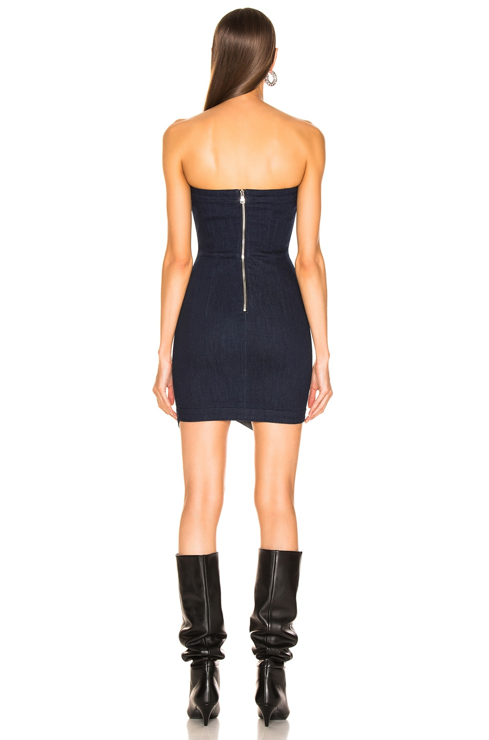 Image 3 of RtA Wylde Dress in Blue