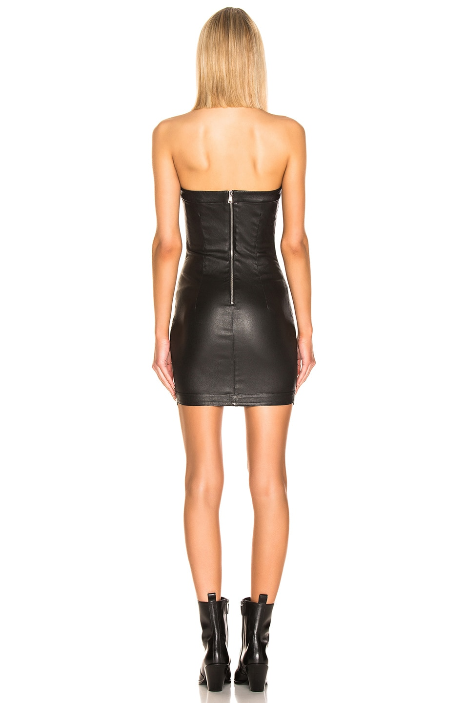 Image 3 of RtA Wylde Leather Dress in Nightlift 2