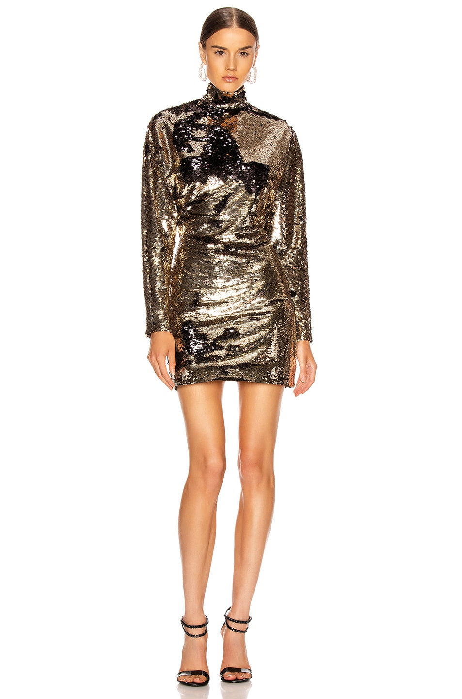 Image 1 of RtA Ansel Dress in Champagne