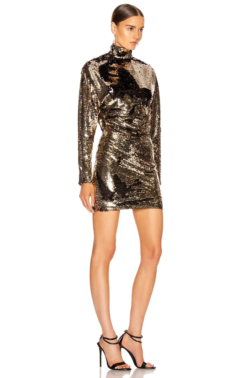 Image 2 of RtA Ansel Dress in Champagne