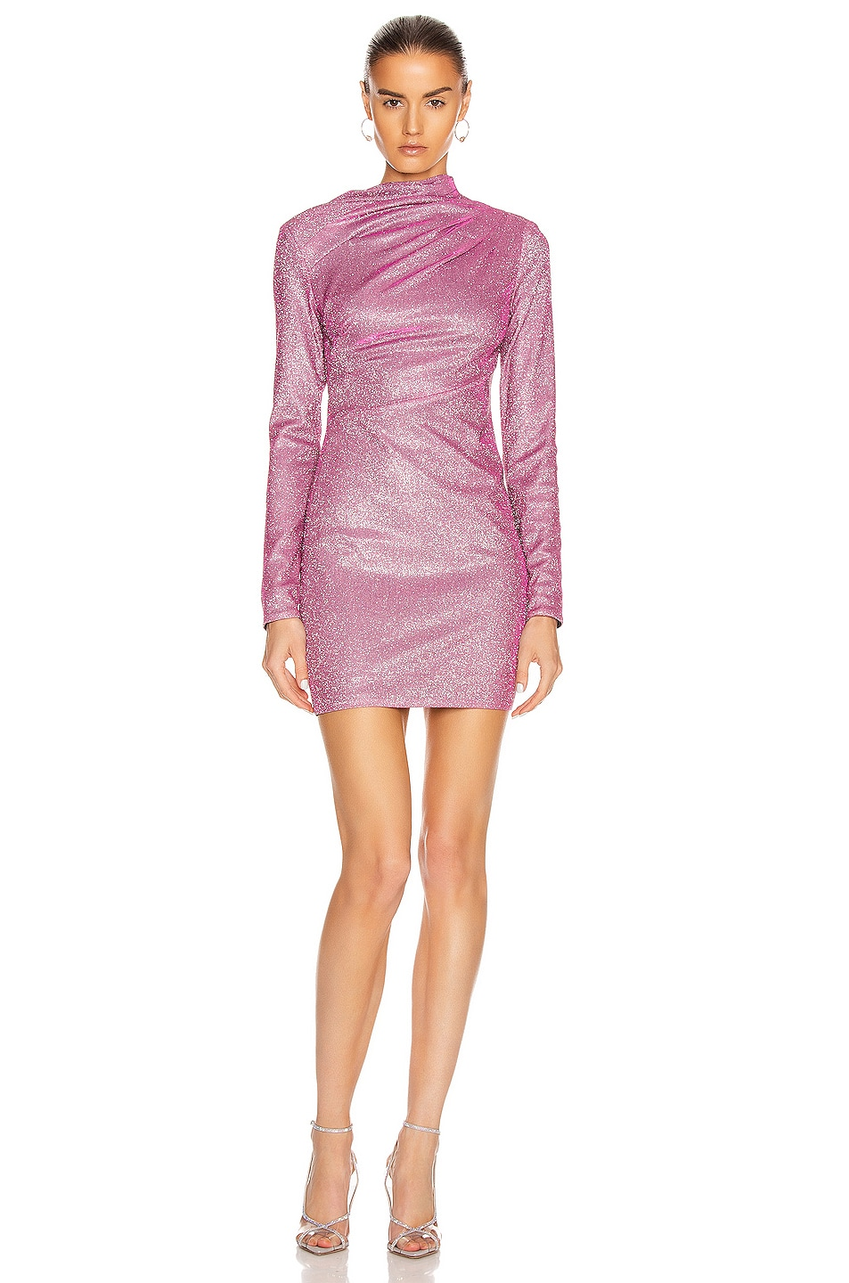Image 1 of RtA Harper Dress in Disco Pink