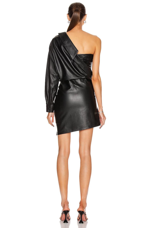 Image 4 of RtA Lana Shirt Dress in Black