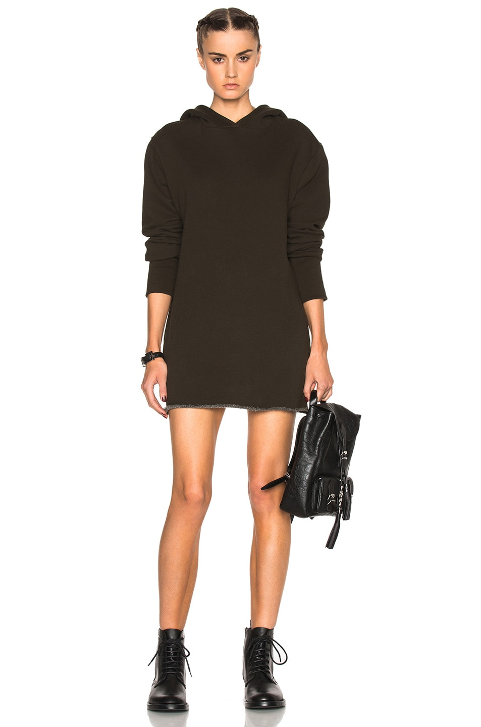 Image 1 of RtA Celine Sweatshirt Dress in Unit