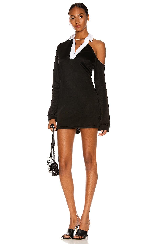 Image 1 of RtA Calandra Mini Dress in Black
