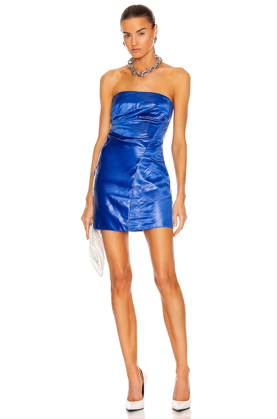 Image 1 of RtA Judith Dress in Magnetic Blue