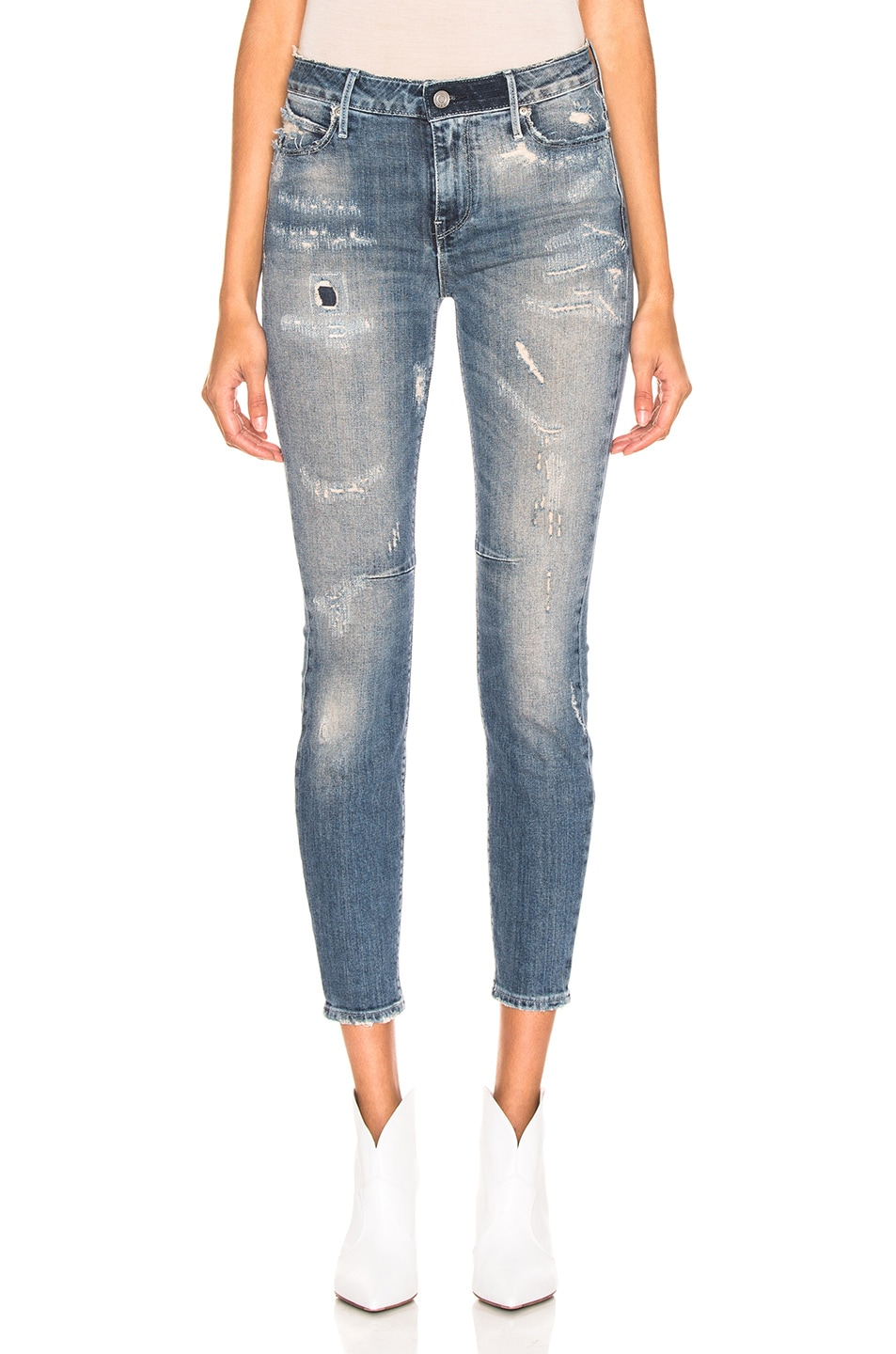Image 1 of RtA Monroe Jeans in LA Grande Blue