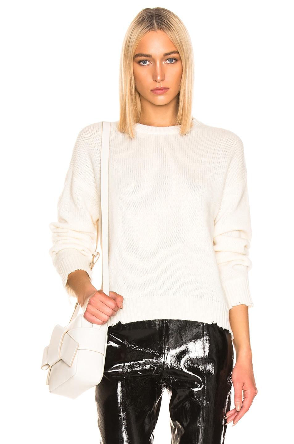 Image 1 of RtA Emma Sweater in Ivory