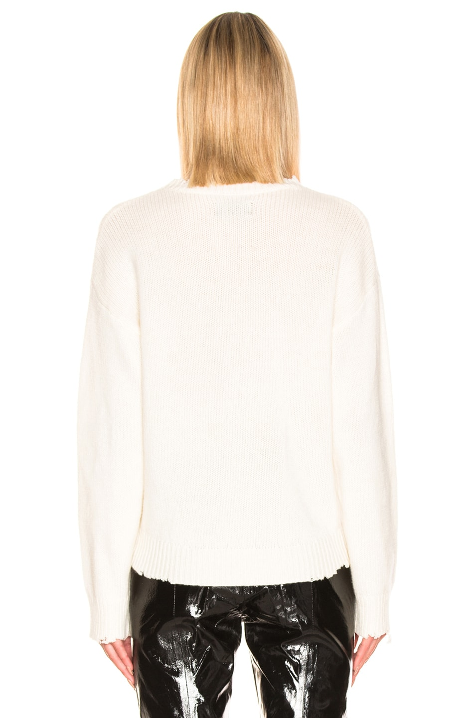 Image 3 of RtA Emma Sweater in Ivory