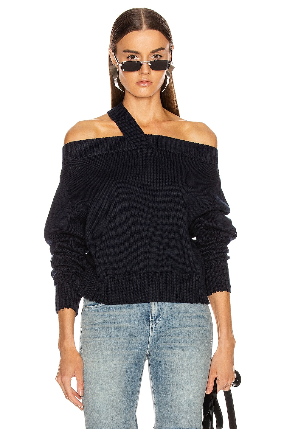 RtA Beckett Sweater Navy lovely