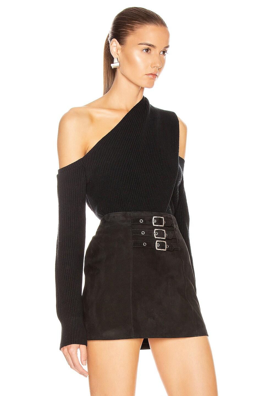 Image 2 of RtA Juliet Sweater in Black