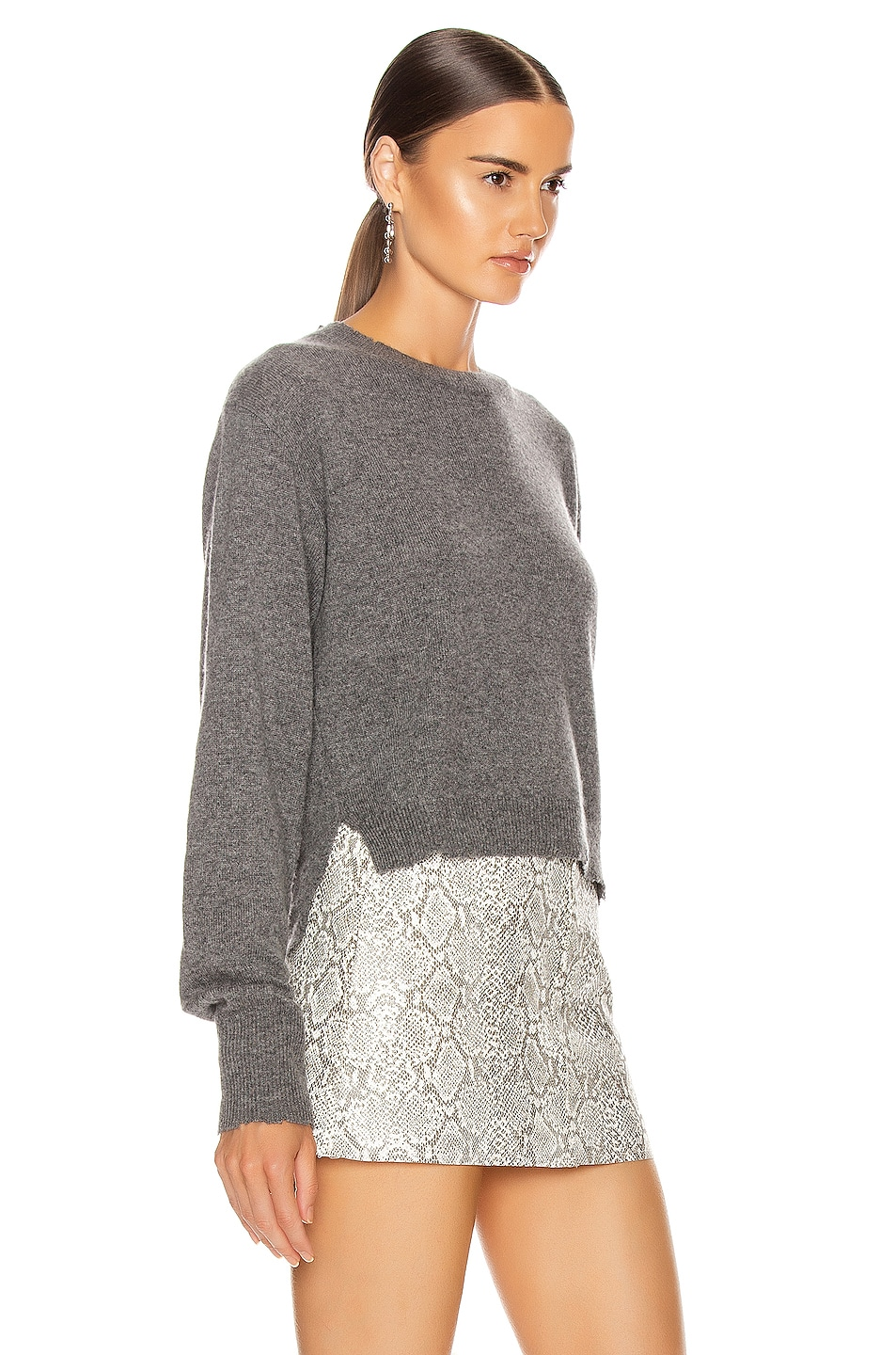Image 2 of RtA August Sweater in Heather Grey