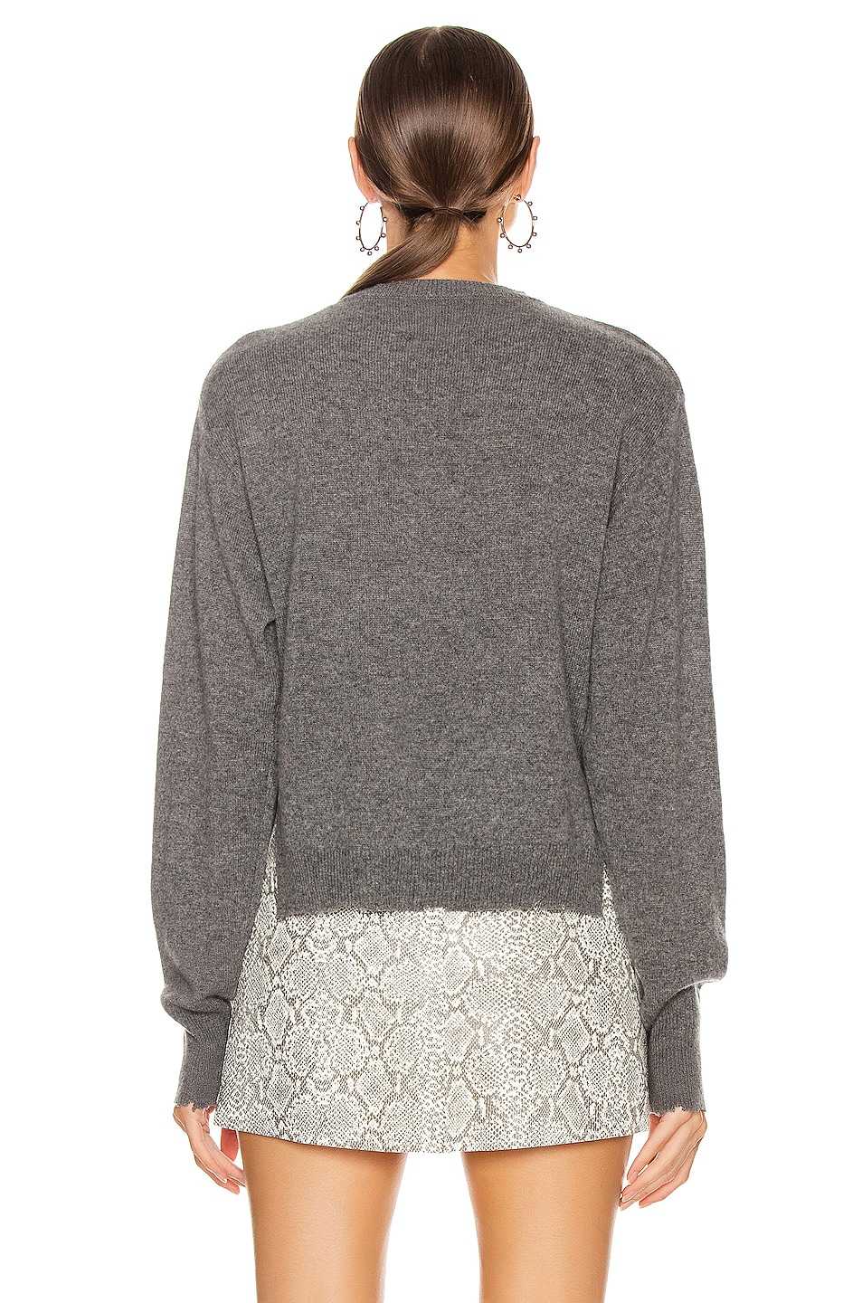 Image 3 of RtA August Sweater in Heather Grey