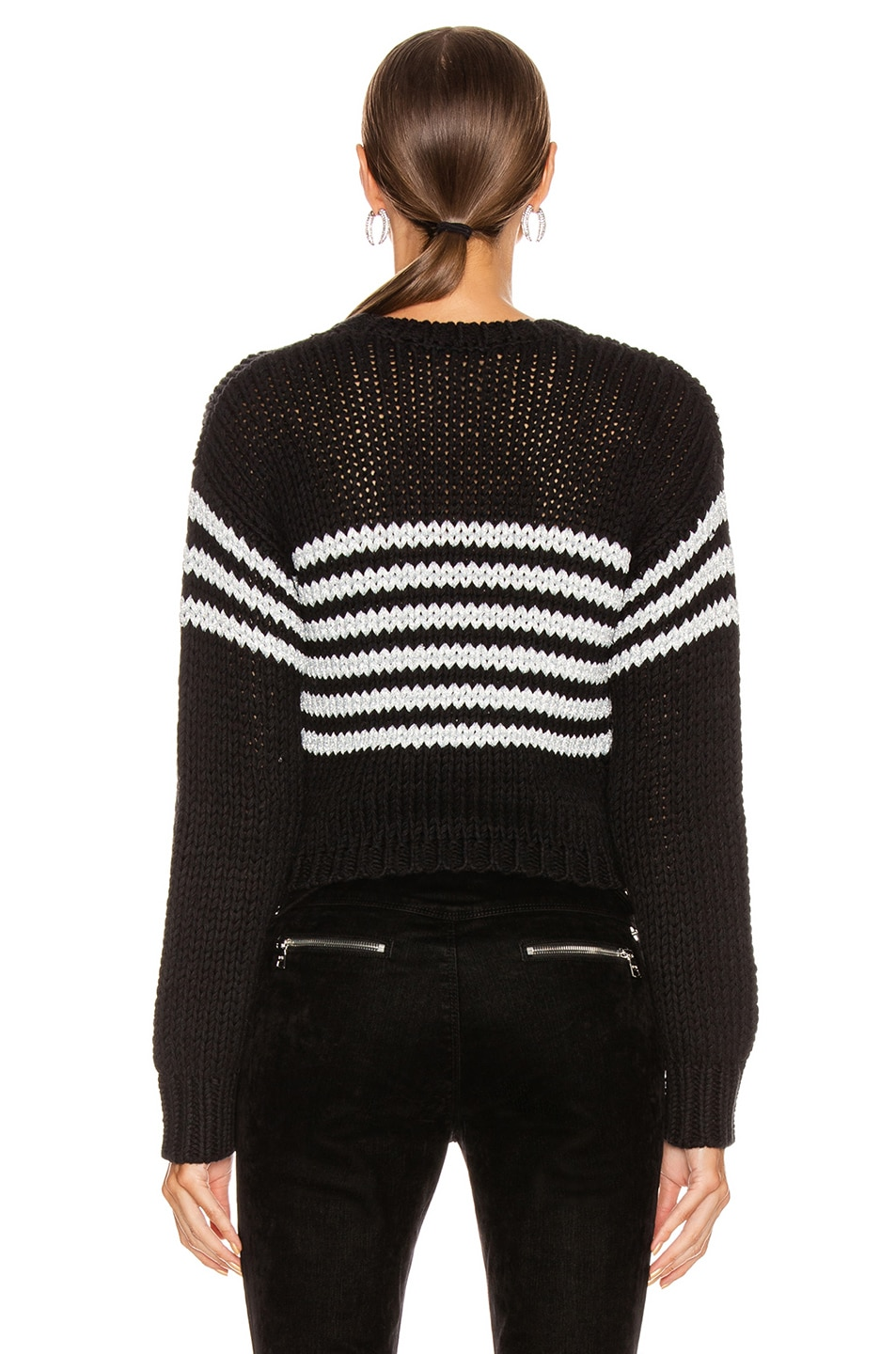 Image 3 of RtA Rory Sweater in Black
