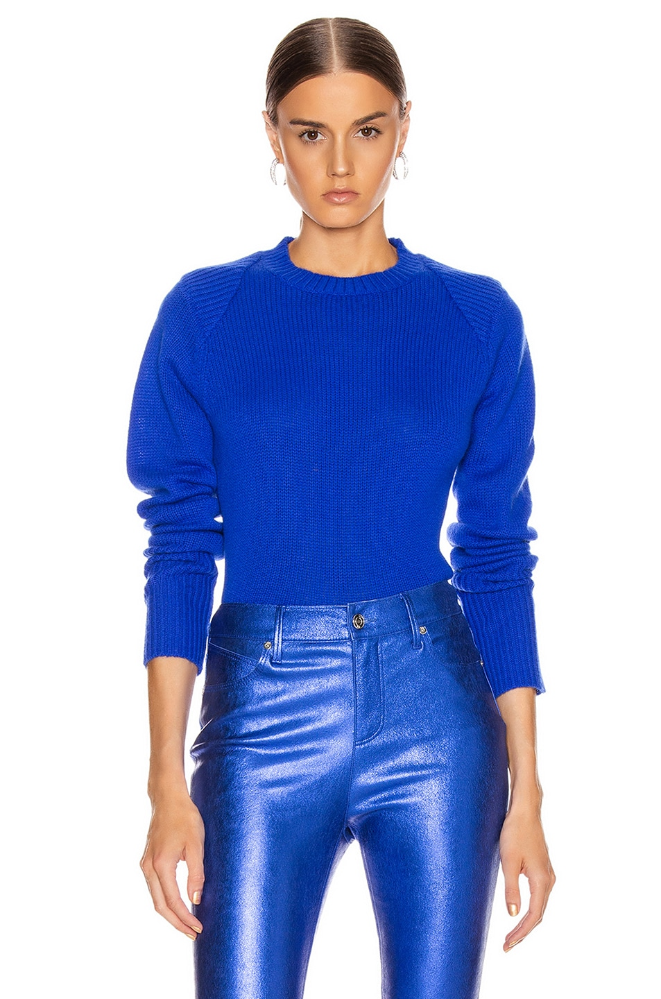Image 1 of RtA Rae Sweater in Electric Blue