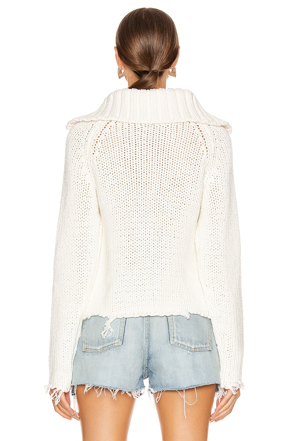 Image 3 of RtA Dom Sweater in White