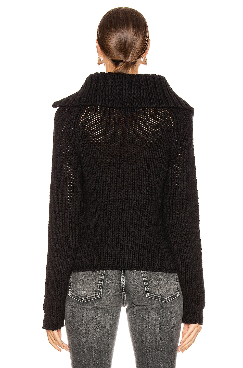 Image 3 of RtA Dom Sweater in Black