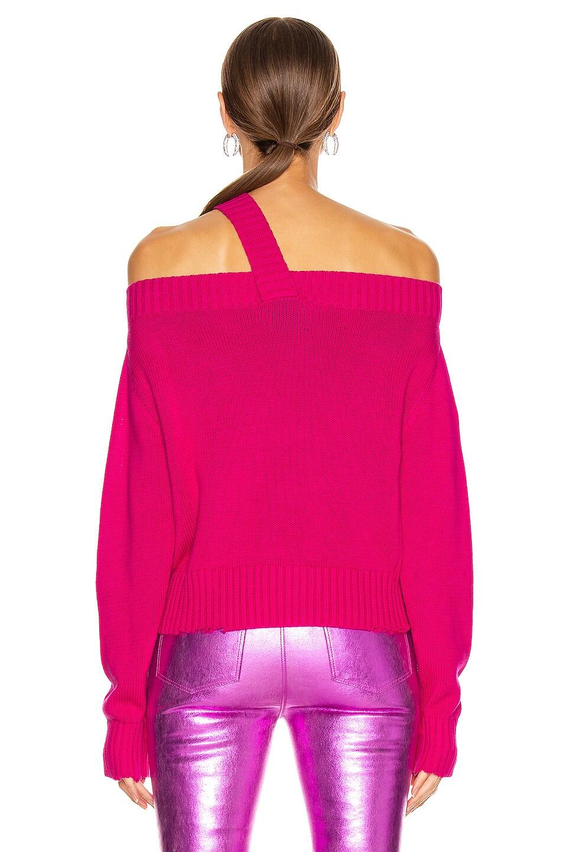 Image 3 of RtA Beckett Sweater in Magenta
