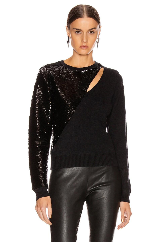 Image 2 of RtA Teagan Sweater in Black