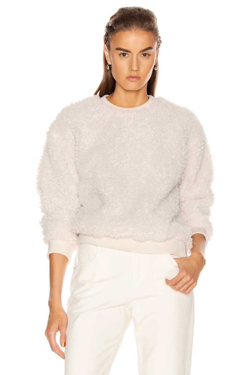 Image 1 of RtA Emma Sweater in White