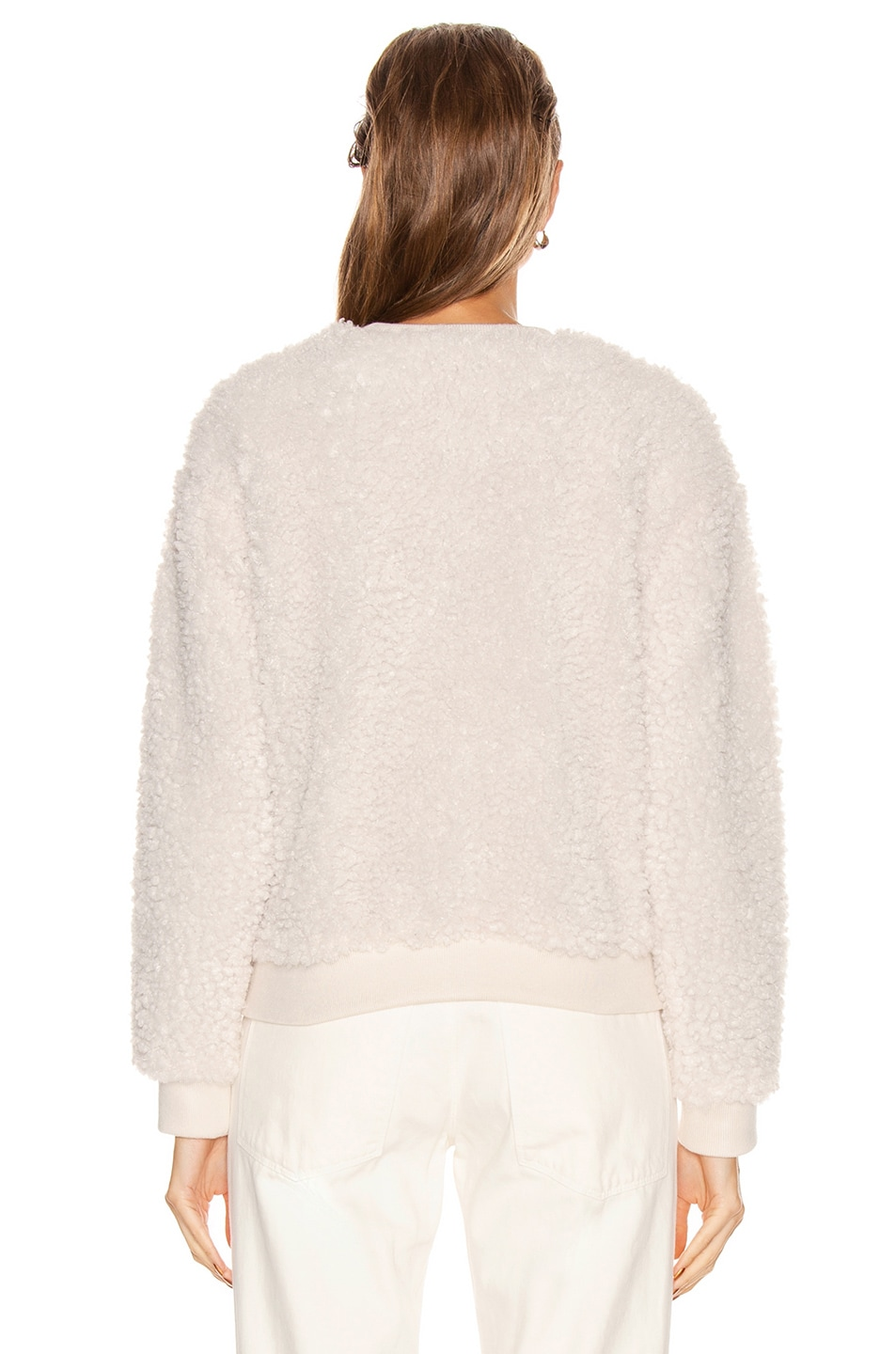 Image 3 of RtA Emma Sweater in White