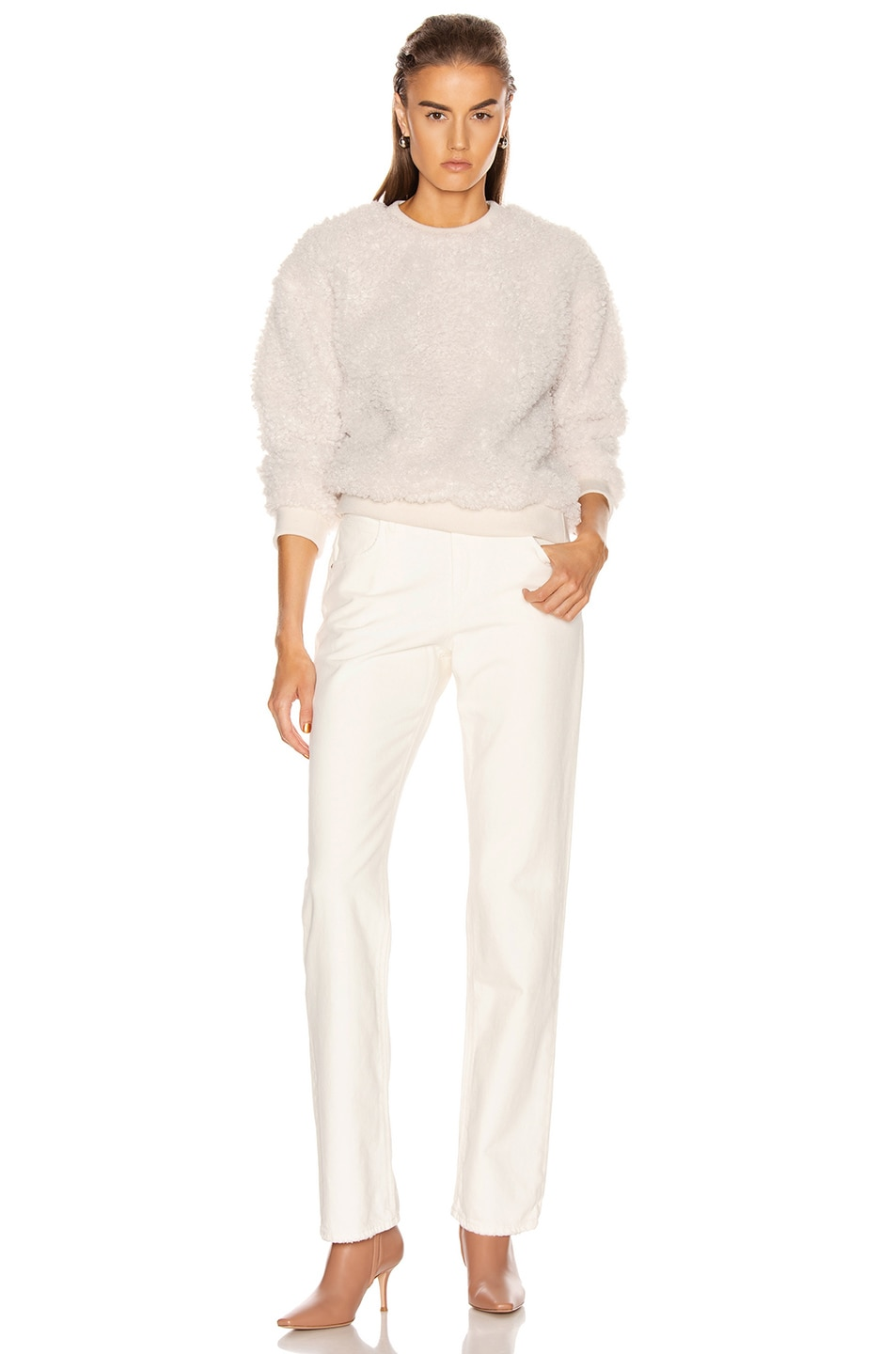 Image 4 of RtA Emma Sweater in White