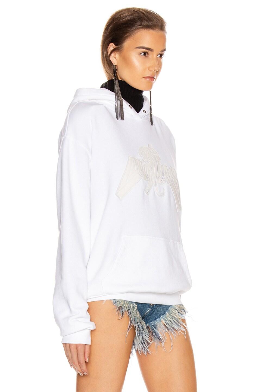 Image 3 of RtA x Dundas Brad Hoodie in White