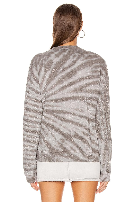 Image 3 of RtA Emma Sweater in Titanium Tie Dye