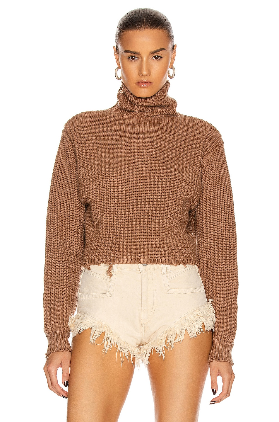 Image 1 of RtA Beau Sweater in Desert Sand