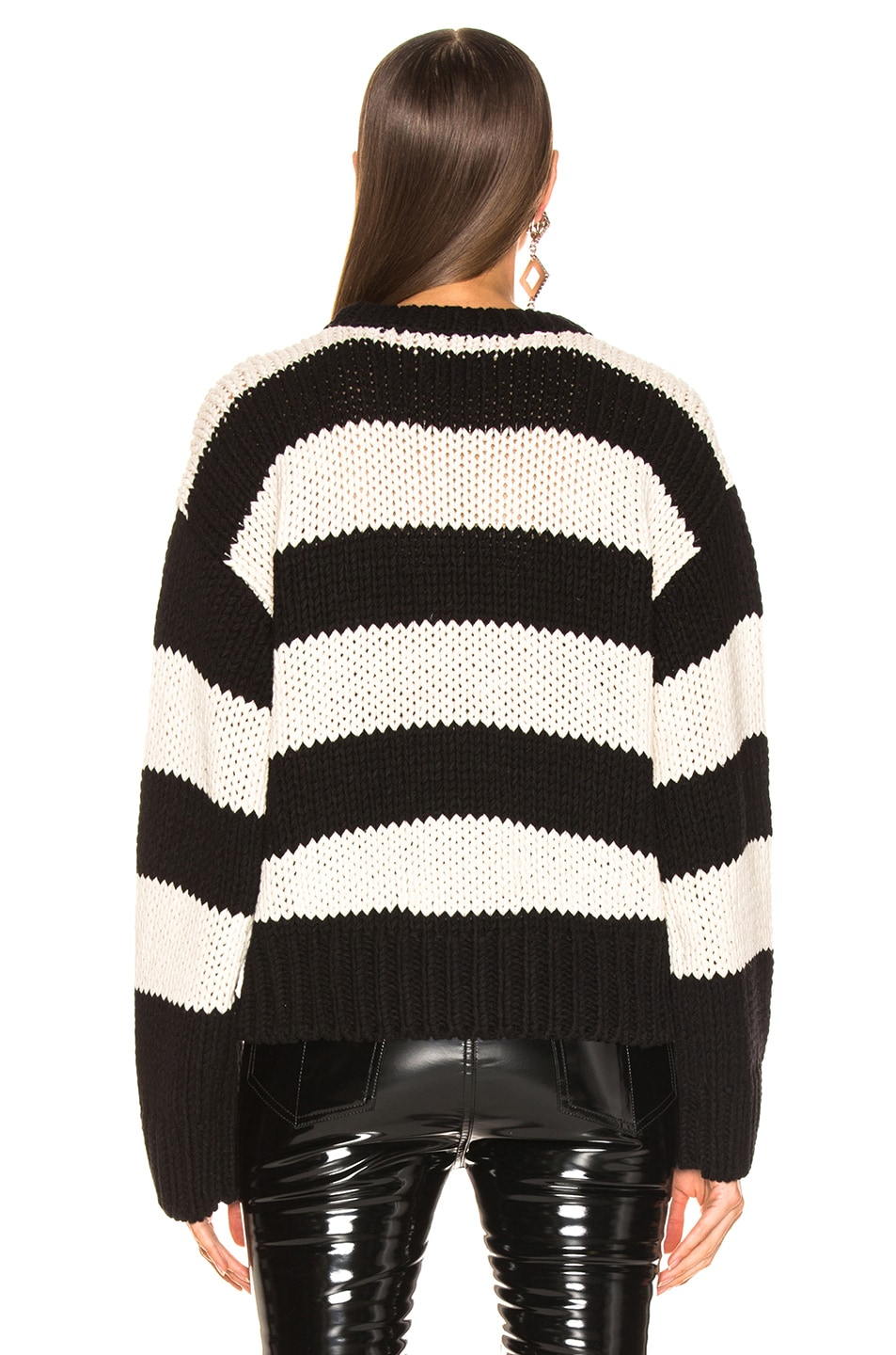 lovely RtA Griffith Sweater Ligne Black