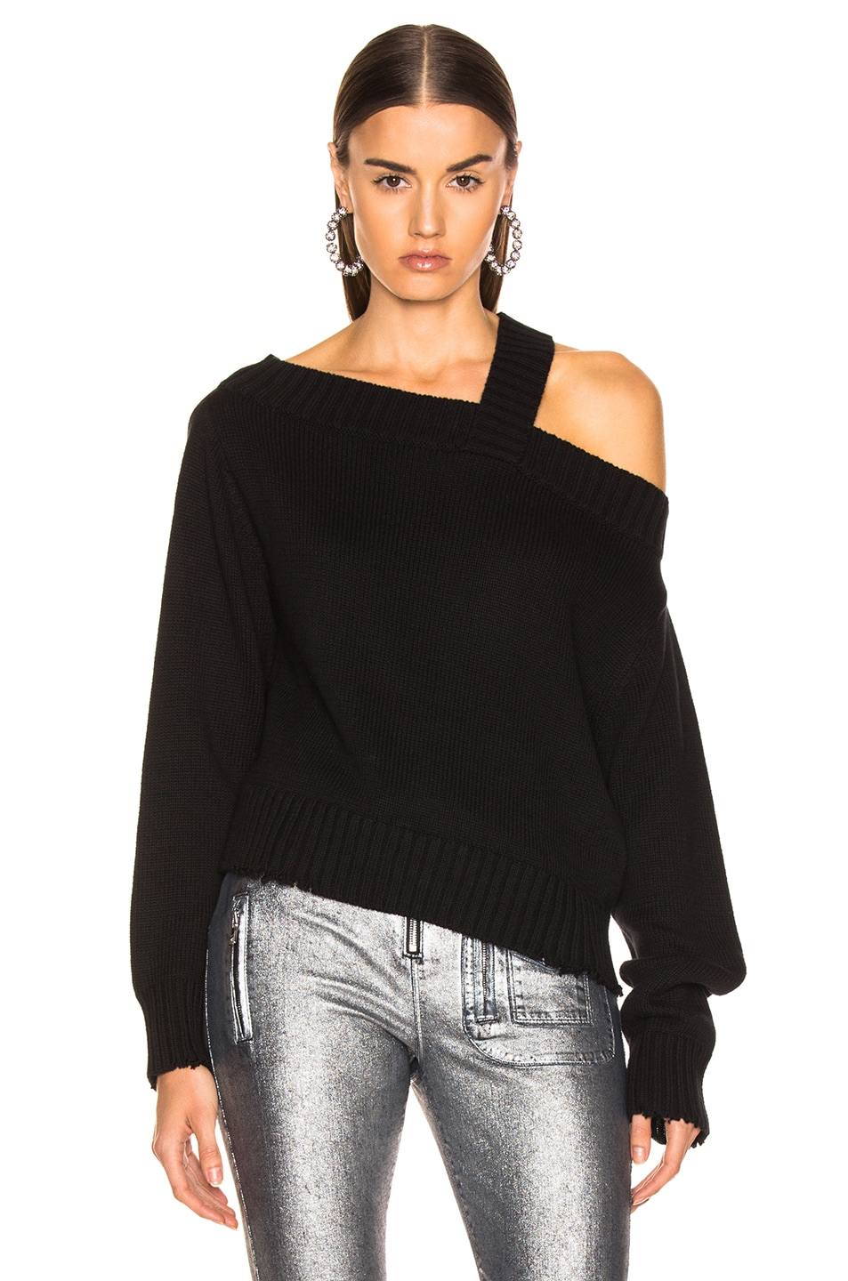 Image 2 of RtA Beckett Sweater in Uno Black