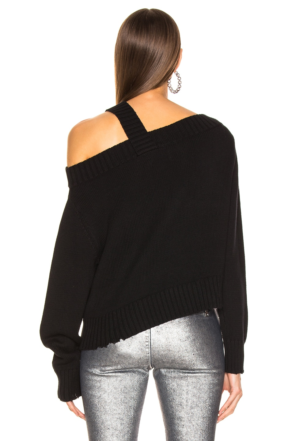 Image 5 of RtA Beckett Sweater in Uno Black