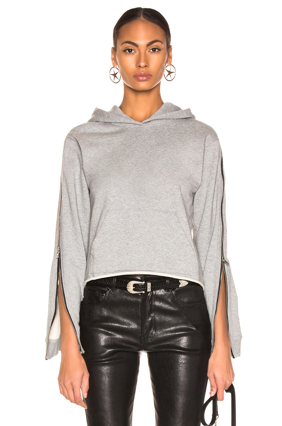 Image 1 of RtA Cicely Sweatshirt in Stone