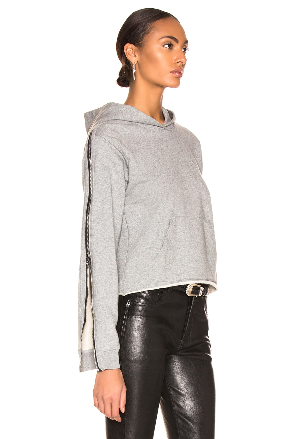 Image 2 of RtA Cicely Sweatshirt in Stone