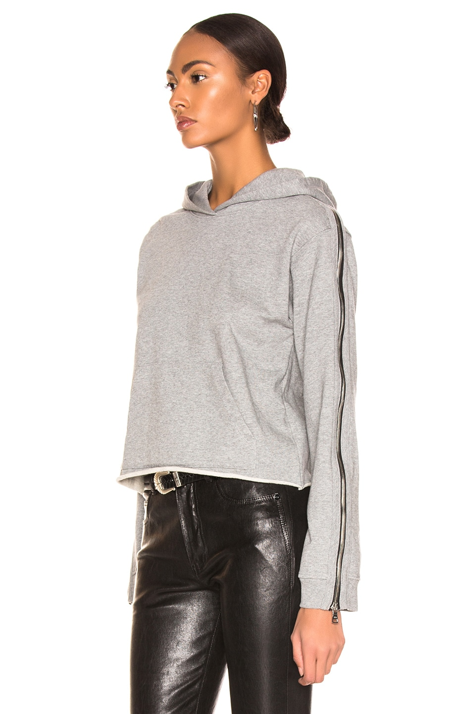 Image 3 of RtA Cicely Sweatshirt in Stone