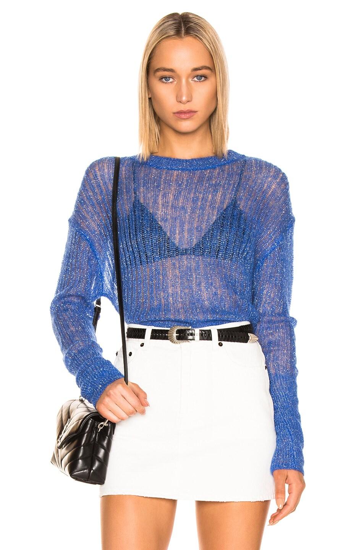 Image 1 of RtA Gilda Sweater in Cobalt