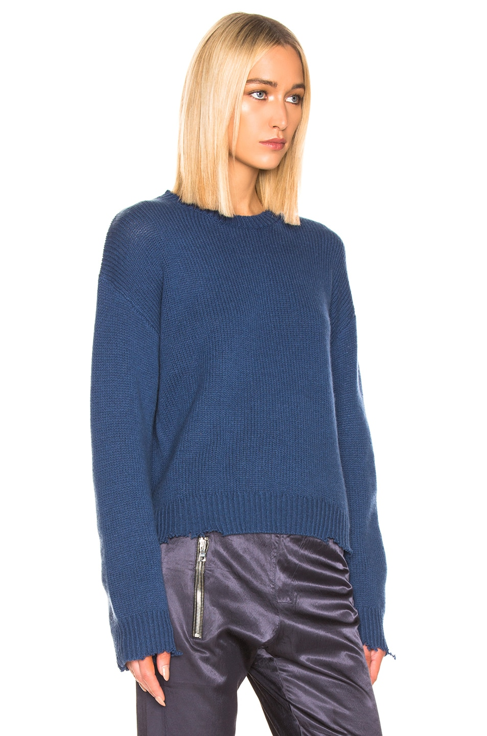 Image 2 of RtA Emma Sweater in Cerulean Blue