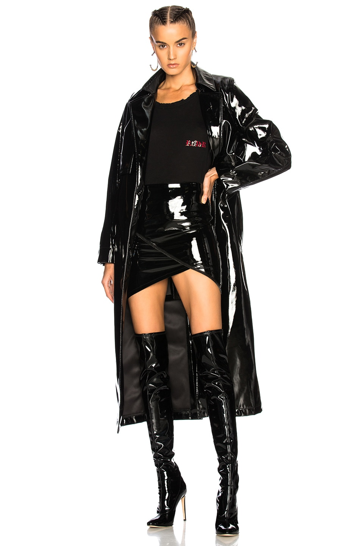 Image 1 of RtA ANNA DELLO RUSSO X RTA for FWRD Karina Coat in Vixen