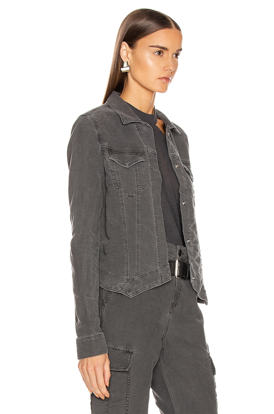 Image 2 of RtA Jack Jacket in Faded Grey