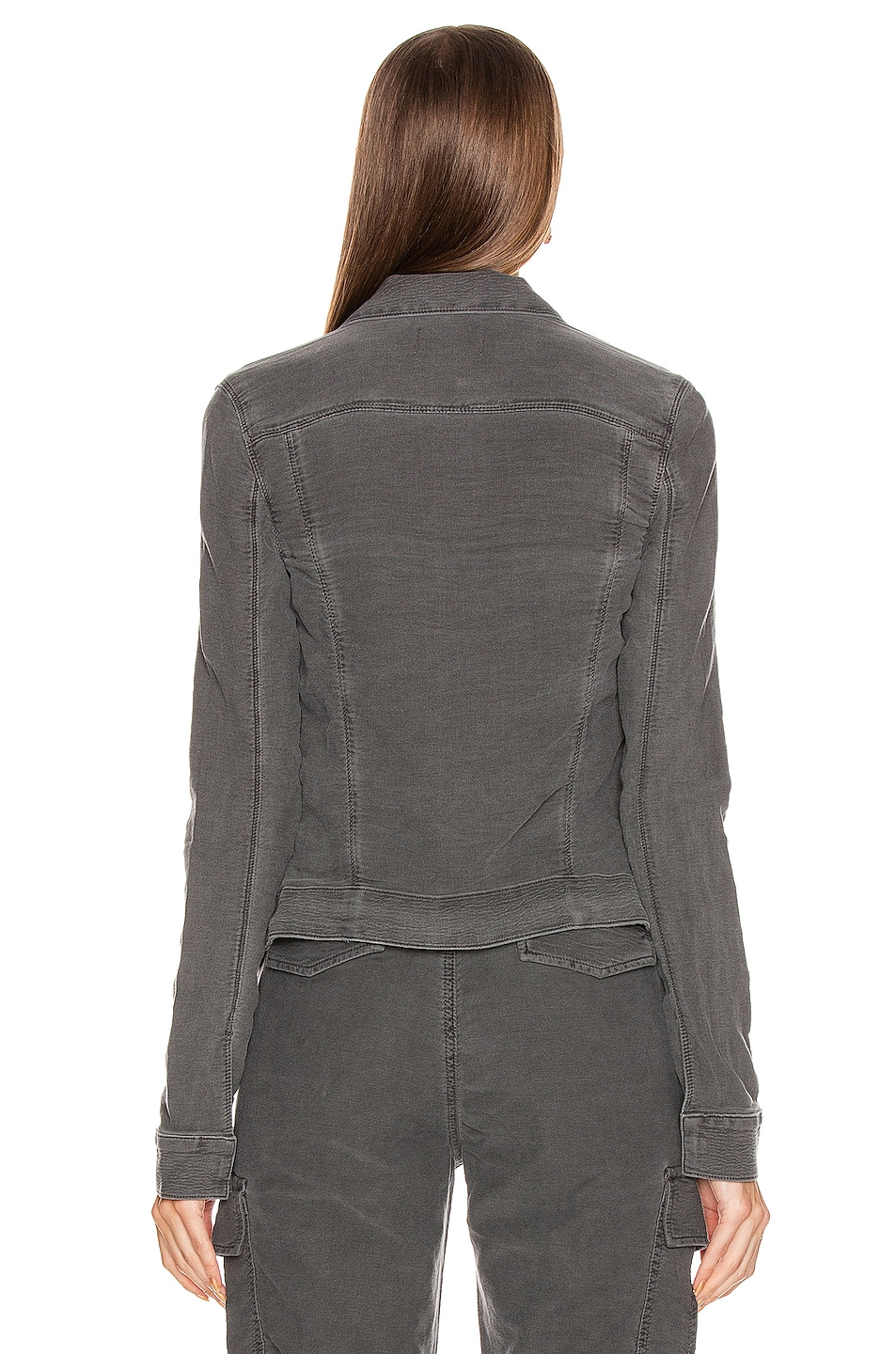 Image 3 of RtA Jack Jacket in Faded Grey