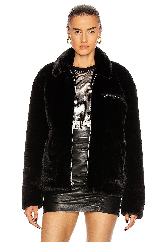 Image 1 of RtA Reese Jacket in Black