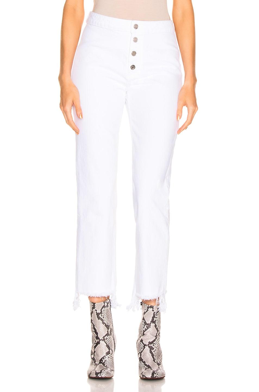 Image 1 of RtA Jean in Optic White 2