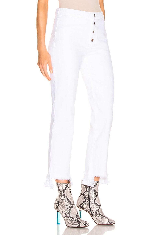 Image 2 of RtA Jean in Optic White 2