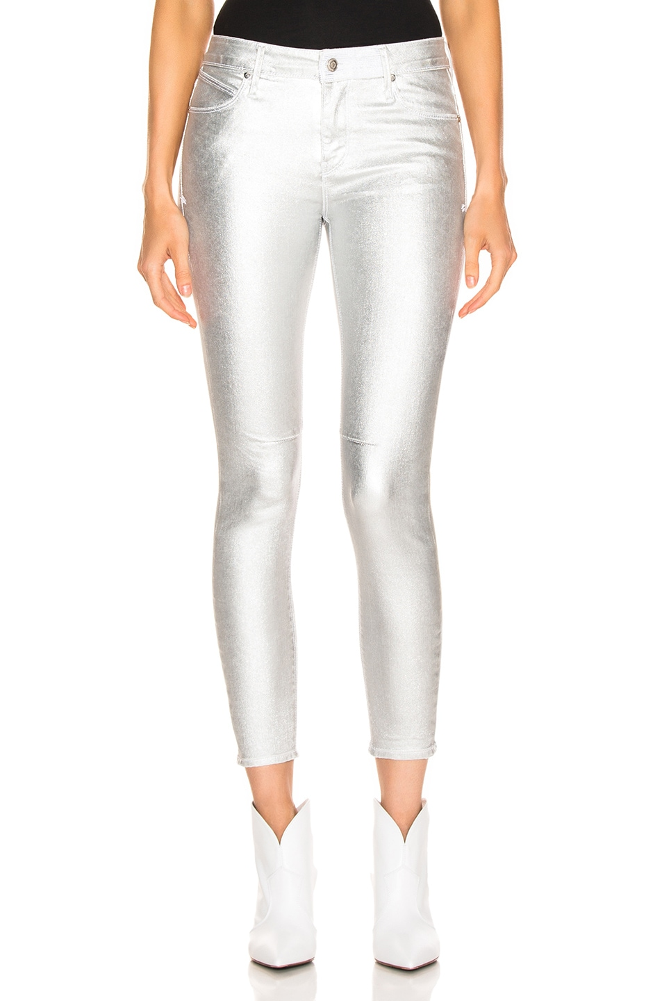 Image 1 of RtA Prince Pants in Sound Silver