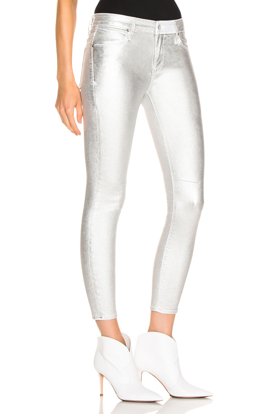 Image 2 of RtA Prince Pants in Sound Silver